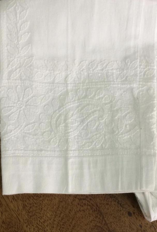 White Cotton Trouser